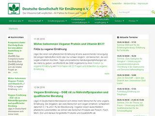 Preview of dge.de