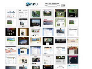 Earlier screenshot of directory.n.nu