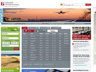 Preview of dresden-airport.de