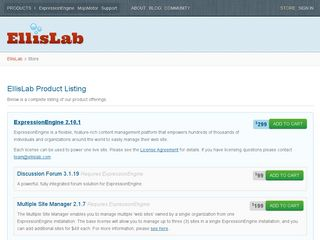 Preview of ellislab.com