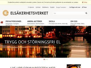 elsakerhetsverket.se