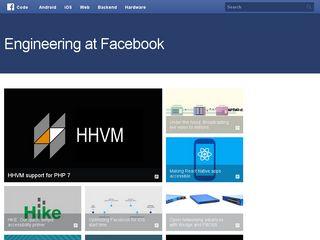 Preview of facebook.github.io