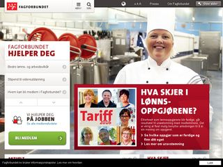Preview of fagforbundet.no