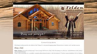 Earlier screenshot of felden.pl