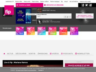 Preview of fipradio.fr