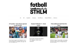 fotbollsthlm.se
