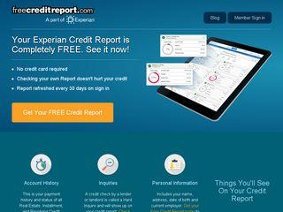 Preview of freecreditreport.com