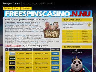 freespinscasino.n.nu
