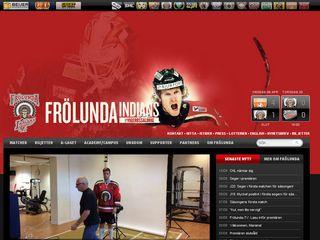 Preview of frolundaindians.com