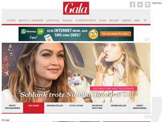 Preview of gala.de