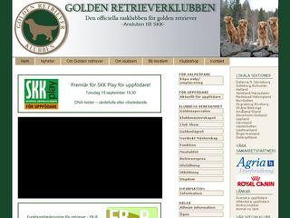 Preview of goldenklubben.se