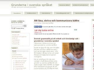 grundenisvenska.se