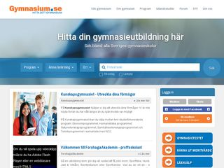Preview of gymnasium.se