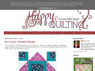 happyquiltingmelissa.com