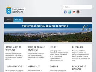 Preview of haugesund.kommune.no