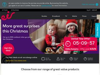 Preview of homepage.tinet.ie