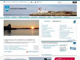Preview of hvaler.kommune.no
