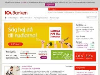 Preview of icabanken.se