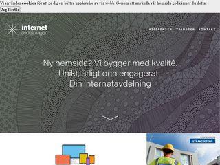 Preview of internetavdelningen.se