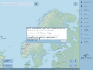 kart kystverket kart.kystverket.no | Domainstats.com kart kystverket