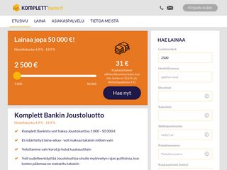 komplettbank.fi