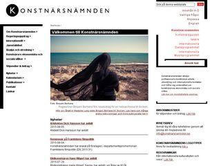 Preview of konstnarsnamnden.se
