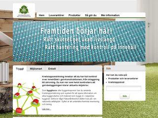 kretsloppsmarkning.se