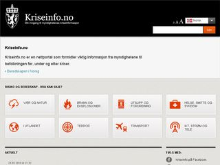 Preview of kriseinfo.no