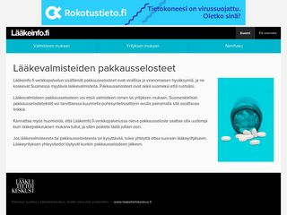 Preview of laakeinfo.fi