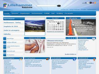 Preview of lillehammer.kommune.no