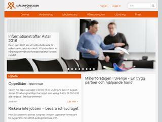 Preview of maleriforetagen.se