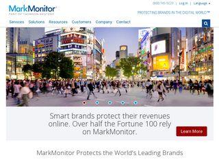 Preview of markmonitor.com