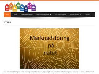 Earlier screenshot of marknadsforingsocialamedier.se