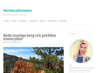 martinajohansson.se