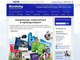 maxdialog.se