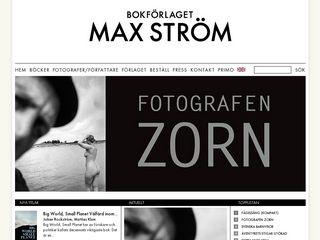 Preview of maxstrom.se