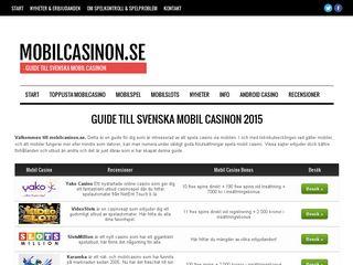 Preview of mobilcasinon.se