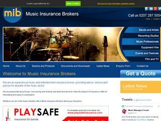musicinsurance.net