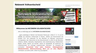 netzwerkvolksentscheid.de