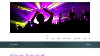 noje-musik.se