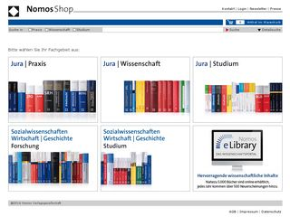 Preview of nomos-shop.de
