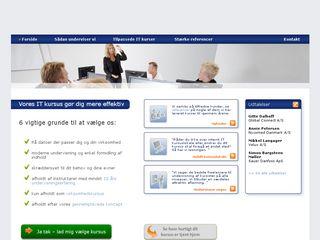 Earlier screenshot of officekonsulenterne.dk