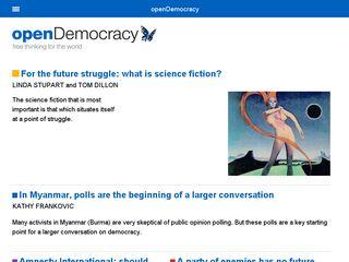 opendemocracy.net