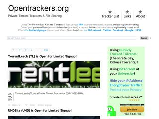 opentrackers.org