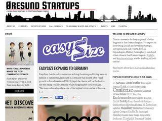 Preview of oresundstartups.com