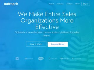 Preview of outreach.io