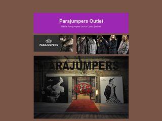 Earlier screenshot of parajumpersherr.se