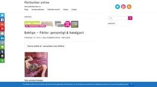 parlbutikeronline.se