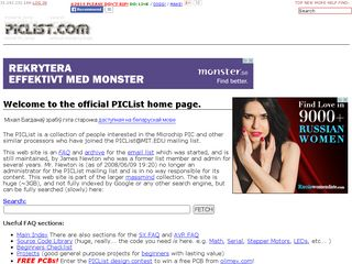 Preview of piclist.com