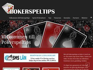 pokerspeltips.se